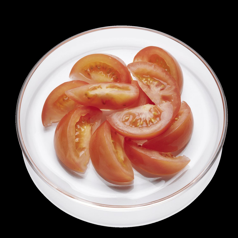 Tomaten, Ecken